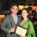 Priti und Kuku Bild Hop Award Verleihung